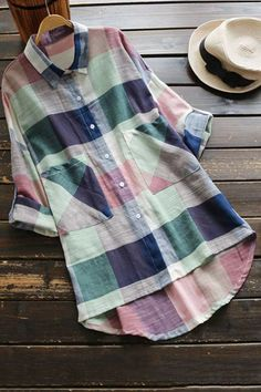 Must have or make! Cupshe Dwell on Dreams Plaid Shirt