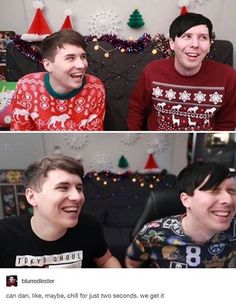 We get it Dan, you love Phil, it'd be a lot easier for all of us if you just came out and told us