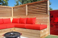 Deck Privacy Panels, Privacy Wall On Deck, Privacy Screen Outdoor, Hot Tub Deck, Hot Tub Backyard, Backyard Patio, Outdoor Rooms, Outdoor Living, Outdoor Furniture Sets