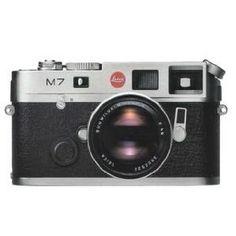 Leica M7 0.72 Rangefinder Silver Camera 10504