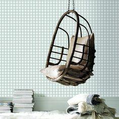 Vliesbehang 2260-13 Simpel Mini Dessin Grijs karwei 19,99 euro