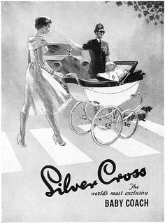 Silver Cross: The world's most exclusive baby coach. So gorgeously elegant! I so want a pram like this for my children!..........mgs and I HAD a pram like this for my children