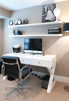 home office, only with a bigger mac :)