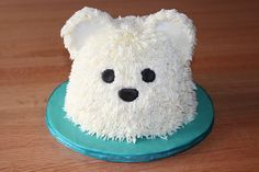 Polar Bear Cake  on Cake Central