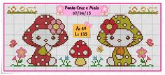 Cross Stitch Baby, Cross Stitch Animals, Alpha Patterns, Canvas Patterns, Hello Kitty, Decoration, Balloons, Projects To Try, Quilts