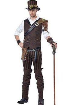 California Costumes Men's Steampunk Adventurer Costume