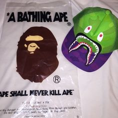 Bape Hat bape hat , worn twice and is in great condition. comes with bape bag. any questions, feel free :) bape Accessories Hats