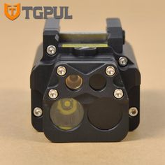 TGPUL Tactical  Hunting Flashlight DBAL-PL LED Weaponlight  With Red Laser and IR Light For Rifles