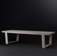 RH Modernu0027s Antoccino Rectangular Dining Table:Striking In Its Angularity,  Our Collection Celebrates The