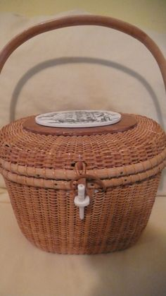 Vintage 1979 Nantucket Basket Carol Brooks Paul by GTOGal389, $1250.00