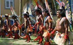 Tribo Karajá se apresenta no Museu do Índio