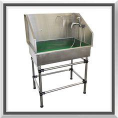 SALE ! Flying Pig Mini Stainless Steel Dog Pet Grooming Bath Tub