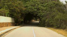 road in Port Elizabeth, South Africa.