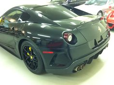 Ferrari 599 GTO with perfectly tinted tail lights!