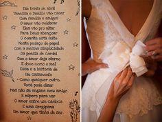 Convite de casamento em cordel! Muito lindo
