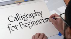 Class: Calligraphy for beginners | by Jackson Alves #calligraphy