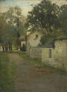 James Guthrie (Scottish, 1859-1930),My House at Rhu. Oil on canvas, 56 x 41cm. Fife Council.