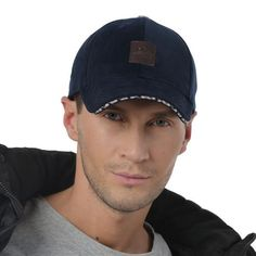 Men's New Winter Baseball Cap with Ear Flaps Cotton Winter Keep Warm Dad Hats Bone Snapback Caps Sports Caps, Cotton Hat, Snapback Cap, Hat Sizes, Dad Hats, Keep Warm, St Kitts And Nevis, Hats For Men, Casual Styles