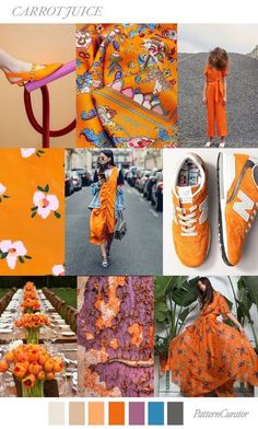 TRENDS | PATTERN CURATOR - CARROT JUICE . FW 2018