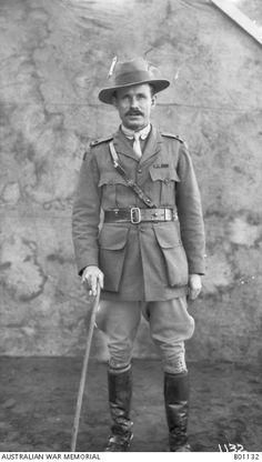 Major H M Parsons DSO, Australian Light Horse Regiment.Ottoman Empire: Lebanon, Tripoli c Dec 1918 World War One, Ottoman Empire, Military History, Wwi, Lebanon, Armed Forces, Soldiers, Legends, Australia