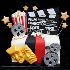 Hollywood movies cake