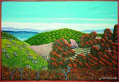 Artista: Agostinho Batista de Freitas Título: Pasto Dimensões: 70 cm x