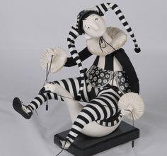 Tamara Pivnyuk Art Dolls / Dolls / гусиные бега