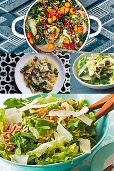 Few leafy greens are as flavorful and versatile as escarole, but we tend to eat it the same ol' way every time: as a salad green. Step outside of your routine and try escarole braised with mushrooms, as a satisfying (and vitamin-rich) pizza filling, and in pastas, soups, stews and casseroles. Winter doesn't have to mean heavy, starchy and bland foods. Try these great recipes while it's chilly! Escarole Recipes, Escarole Soup, Soup Recipes, Great Recipes, Salad Recipes, Healthy Recipes, Garden Vegetable Recipes, Vegetable Gardening, Pasta E Fagioli