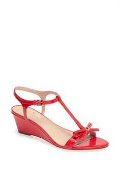 kate spade new york 'donna' wedge sandal available at #Nordstrom