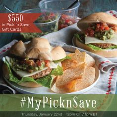 Join us to chat about shopping and eating smarter at the #MyPicknSave Twitter Party Jan 22nd 1pm EST