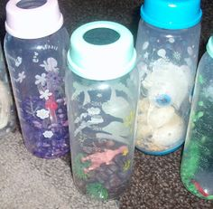 Adventures at home with Mum: Scented Sensory Discovery Bottles