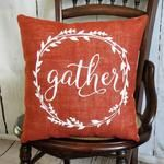 Pillows ~ Fall – Page 2 – Kelley's Collection Stenciled Pillows, Burlap Pillows, Fall Pillows, Throw Pillows, Colored Burlap, Thanksgiving Decorations, Fall Decorations, Burlap Fabric, Pillow Inserts