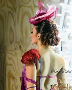 Accessori e abiti unici realizzati a mano per questo bell'evento di moda italiana.  Sfilata @missartemodaitalia Abito: @cristinabertuccelli  Hairsyle: @michelacinini Gioielli: @rosannapasquini Foto: Marco Vedovi  #cappello #cappelli #hat #instalike #instafun #instalife #fashion #womenfashion #madeinitaly #livorno #madeinitaly #moda #modadonna #fascinator #artigianato #modisteria #modella #modelle #fashionphoto #accessori #stile #style #l4l #concorso #modella #modelle #bellezza #model #girl