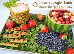 Swing to the Music of The Jungle Book with This Movie Themed Fruit Tray #JungleFresh #shop