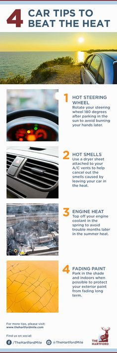 Your car has survived the winter, now it has to survive the summer's heat!
