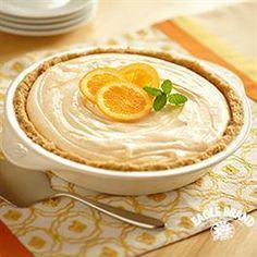 Fluffy #Orange #Pie from Eagle Brand®