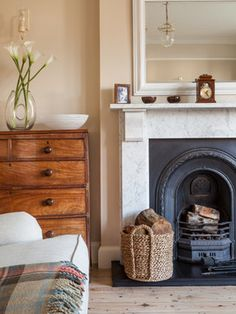 Farrow and ball stony ground no 211 this beige may be - Dimity farrow and ball living room ...