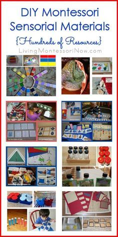There are many great tutorials for DIY Montessori sensorial materials. You'll find hundreds of resources for Montessori homeschoolers and caregivers here!
