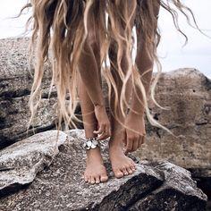 Sun and beach hair for the season