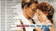Baladas en Romanticas de los 60 70 80 y 90 en Español ♪ღ♫ Musica Viejita...