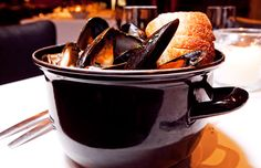 Mussels from Columbia Firehouse