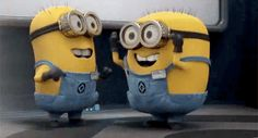 Check out all the awesome minion gifs on WiffleGif. Including all the despicable me gifs, minions gifs, and humour gifs. Gif Minion, Minion Humour, Minions Love, Minions 2014, Minion Things, Minions Cartoon, Minions Minions, Minions Quotes, Karen Marie Moning