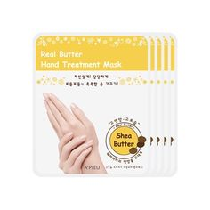 Real Butter Treatment Mask  1Pack2Pcs x 5EA HAND -- Check this awesome product by going to the link at the image. (Note:Amazon affiliate link) #FacialMask