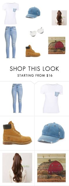 """""""Off Road"""" by kpantz on Polyvore featuring Helmut Lang, Timberland, Mudd and Victoria Beckham"""