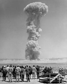 Nevada atomic bomb tests 1953