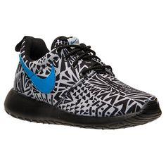 Boys' Preschool Nike Roshe Run Print Casual Shoes - 677782P 005 | Finish  Line