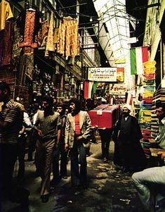Old Tehran: Tehran bazaar (1974)