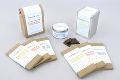 Yonder & Co. Chocolate - designed by Alex Register