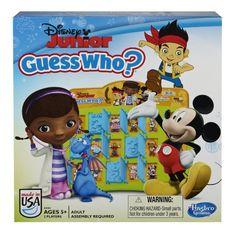 Amazon.com: Disney Jr Guess WhoGame: Toys  Games