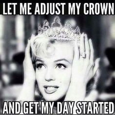 Hope all you lovelies have your crowns on..we hope your day is amazing as you are ❤️